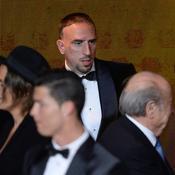 Ballon d'Or : Franck Ribéry, 3e en 2013