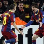 Lionel Messi-Andres Iniesta