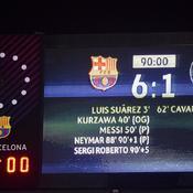 Un score historique