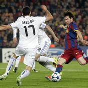 Barcelone-Real Frappe Messi