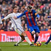 Ronaldo face à Messi