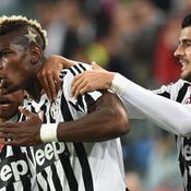 Dix jours auparavant, lors du derby de Turin, il n'y avait qu'une seule étoile d'un côté et deux traints blonds de l'autre.