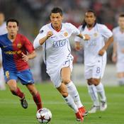 Cristiano Ronaldo-Xavi, Ligue des champions
