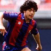 Maradona à Barcelone