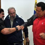 Chavez-Maradona-Castro