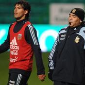 Diego Maradona-Sergio Agüero