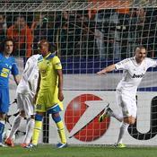 Benzema avait déjà marqué face à Nicosie