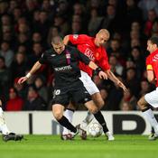 Benzema mystifie la défense de Manchester United