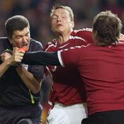 L'arbitre agressé