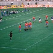 Euro 1984, France-Espagne, Coup franc Platini