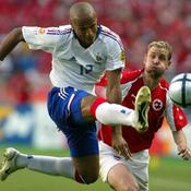 Euro 2004, France-Suisse, Thierry Henry