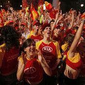 L'Espagne chavire de bonheur