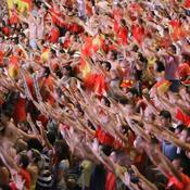 Les supporters espagnols