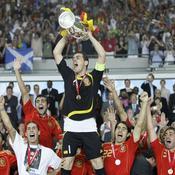 Iker Casillas et l'équipe d'Espagne