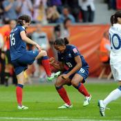 France-Angleterre Joie après égalisation