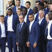 12 juillet - Antoine Griezmann et les Bleus à l'Elysée