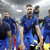 3 juillet - France-Islande (Patrice Evra, Olivier Giroud et les Bleus)