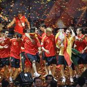 Espagne, podium