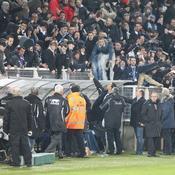 Auxerre-Nancy : Incidents