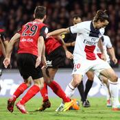 Guingamp-PSG, Zlatan