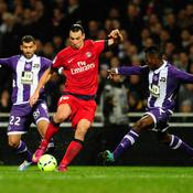 Toulouse-Paris SG, Ibrahimovic
