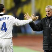 Claudio Ranieri et Javier Zanetti