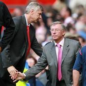 Wenger et Alex Feguson