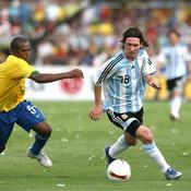 2007, première finale ratée pour Messi