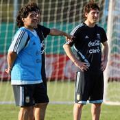 Messi-Maradona, une relation compliquée