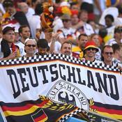 L'Allemagne en infériorité dans les tribunes