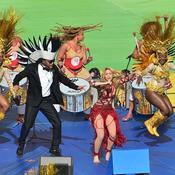 Shakira assure le show