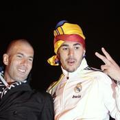 Zinedine Zidane Karim Benzema Coupe du Roi