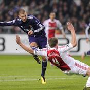 Ajax-Madrid, Benzema