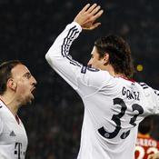 Roma-Bayern, Ribéry-Gomez