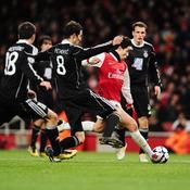 Arsenal-Partizan, Nasri