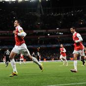 Arsenal-Partizan, Van Persie