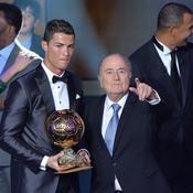 Cristiano Ronaldo Sepp Blatter