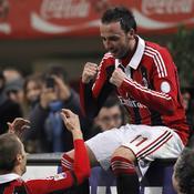 Milan-Lazio : Pazzini