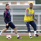 Franck Ribéry - Patrice Evra