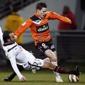 Lorient-Bordeaux Planus tacle Gameiro