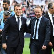 Emmanuel Macron et Jean-Michel Papin
