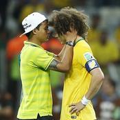 Thiago Silva and David Luiz