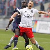 Bordeaux-PSG : Ibrahimovic