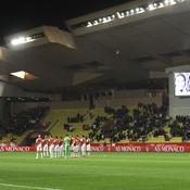 Monaco-Bastia : Minute de silence