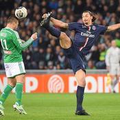 ASSE-PSG : Ibrahimovic