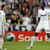 Real-Tottenham, joie Adebayor