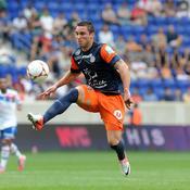 Emmanuel Herrera attaquant Montpellier