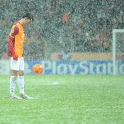 Galatasaray-Juventus : neige