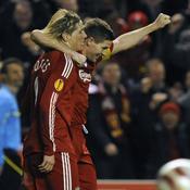 Fernando Torres et Steven Gerrard