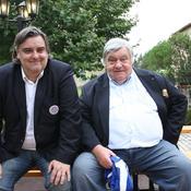 Avec son fils, Laurent Nicollin